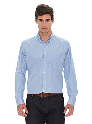 Turrau Camisa Cuadro Pequeño (Azul)