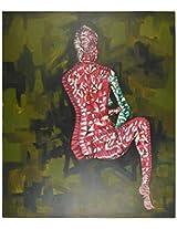 Liflad Artmart Acrylic and Canvas Painting (76 cm x 76 cm, LA29)