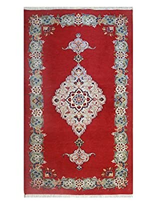 The Rug Market Kashan Jafar Rug, Red/Blue, 2' 10' x 4' 7