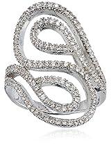 Shaze Ring for Women (Silver) ( 533R-37)