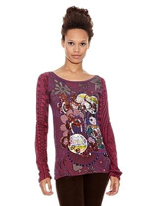 Desigual Camiseta Guano (Amberes y Rosa)