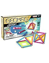Geomag 22-Piece Glitter Construction Set with Assorted Panels - Mentally Stimulating for Children and Adults - Safe and High Quality Construction - For Ages 3 and Up