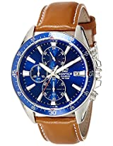 Casio Edifice Analog Blue Dial Men's Watch - EX250
