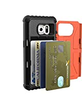 URBAN ARMOR GEAR Cell Phone Card Case for Samsung Galaxy S7, Rust