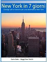 New York in 7 giorni (Italian Edition)