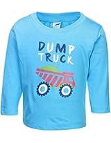 Tango Full Sleeves T-Shirt Sky Blue - Truck Print