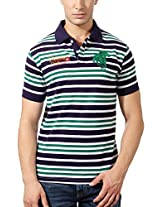 Peter England Classic Polo Striped Tee