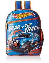 Hot Wheels Blue and Orange Children's Backpack (MBE - MAT025)