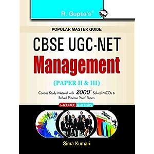 UGC-NET Management Guide (Paper II and III): Paper II & III (Popular Master Guide)