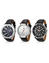 Rico Sordi Set of 3 Mens Leather Watches RSD16_S3_1