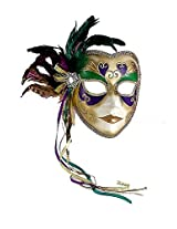 Mardi Gras Masquerade Full Venetian Female Mask [Toy]