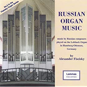 Russian Organ Music