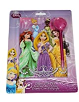 Disney Princess and Disney Frozen Combo Diary Pack with Pen and Lock