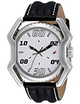 Fastrack Analog White Dial Men's Watch - 3112SL01
