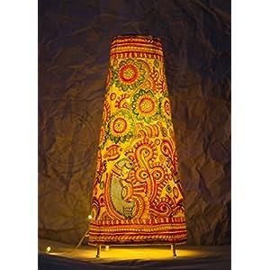 Moya Peacocks & Foliage - Cylindrical Floor Lamp