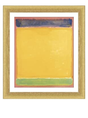 Rothko - Blue Yellow Green on Red, 1954