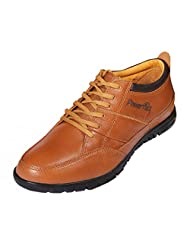 Red Chief Men's G.Tan Leather Casual Shoes