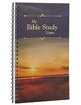 Notebook Wirebound My Bible Study Notes