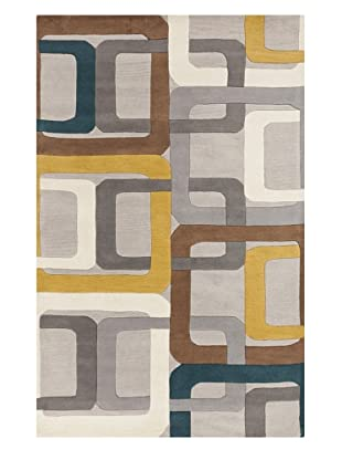 Surya Forum Rug (Teal Blue)