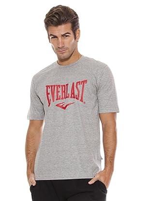 Everlast Camiseta Lam (Gris Claro / Rojo)