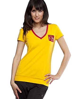 Le Coq Camiseta Parche (Amarillo)