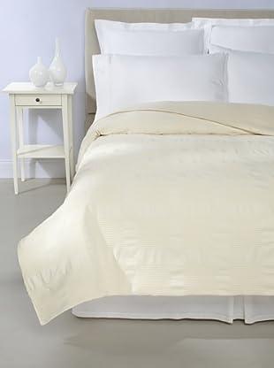 Coyuchi Lattice Coverlet (Ivory)