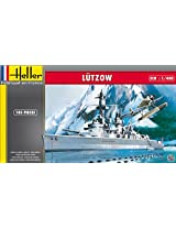 Heller Lutzow Heavy Cruiser Boat Model Building Kit