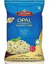 CROWN Opal Basmati Rice - Extra Long Grain, 5Kg