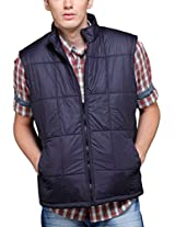 Yepme Men's Polyester Jacket (YPMJACKT0001_Blue_X-Large)