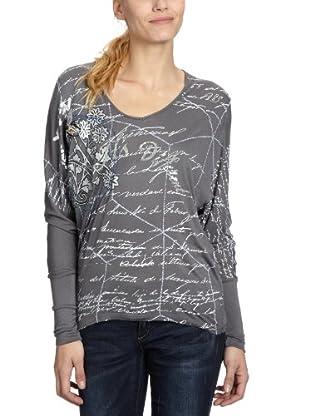 Desigual Camiseta 28T2556 (Gris)