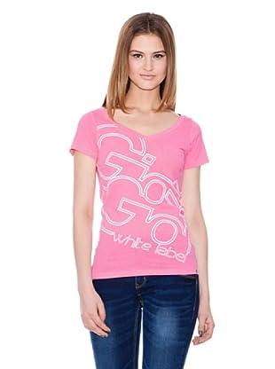Gio Goi Camiseta Trakgirl (rosado)