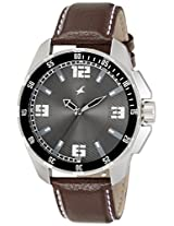 Fastrack Analog Grey Dial Men's Watch - 3084SL02