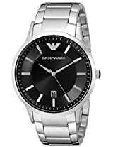 Emporio Armani  Analog Black Dial Men's Watch AR2457