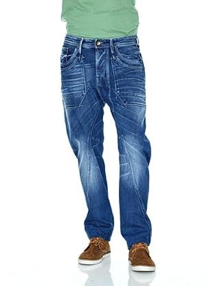 Salsa Pantalón Slim Deep (Azul)