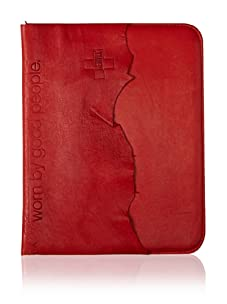 +Beryll Raw Men's iPad Sleeve (Blood)