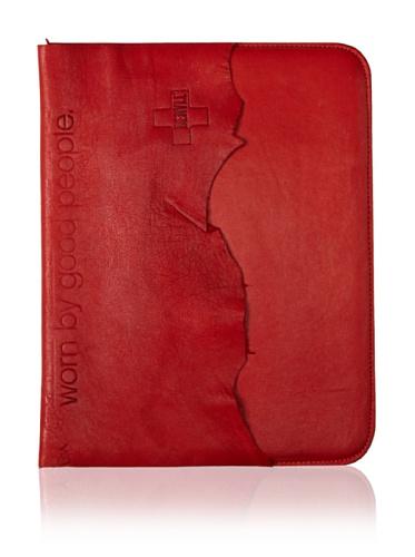 +Beryll Raw Men's iPad Sleeve (Blood)