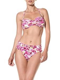 Nanette Lepore Swim Women's Madison Avenue Sweetheart Bikini Bottom (Pink)