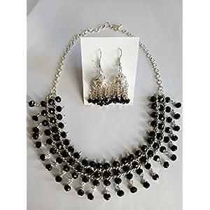 Mona Jewels Crystal Necklace Set