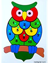 Little Genius Counting Owl, Multi Color (1 to 10)