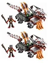 Fisher Price Imaginext Castle Serpent Vehicle 2pack