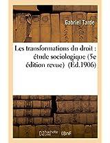 Les Transformations Du Droit: Etude Sociologique 5e Edition Revue (Sciences Sociales)