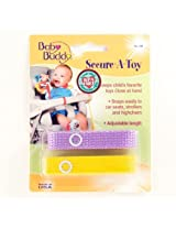 Baby Buddy Secure A Toy Lilac/Yellow By Baby Buddy