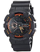 Casio Mens GA-110TS-1A4 G-Shock Analog-Digital Display Quartz Grey Watch