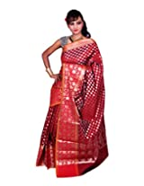 Banarasi MAROON Art Silk Sarees exclusive for Women