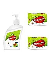 Nysa Det-Maxx Hand Wash & 2 Soaps Combo