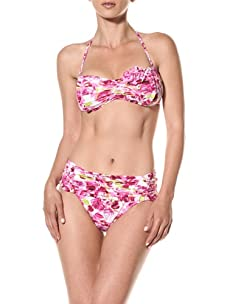 Nanette Lepore Swim Women's Madison Avenue Tease Bikini Top (Pink)
