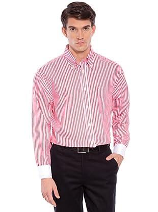 Hackett Camicia Righe (Bianco/Rosso)