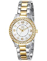 Gio Collection Analog White Dial Women's Watch - FG2001-11