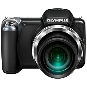 OLYMPUS デジタルカメラ SP-810UZ ブラック 1400万画素 光学36倍ズーム 3.0型ワイドLCD 広角28mm 3Dフォト機能 SP-810UZ BLK