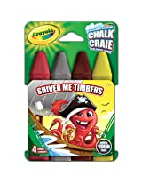 Crayola Build Your Box Shiver Me Timbers Chalk (4 Count)